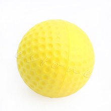 OOTDTY 1pc Yellow Foam Golf Ball Golf Training Soft Foam Balls Practice Ball