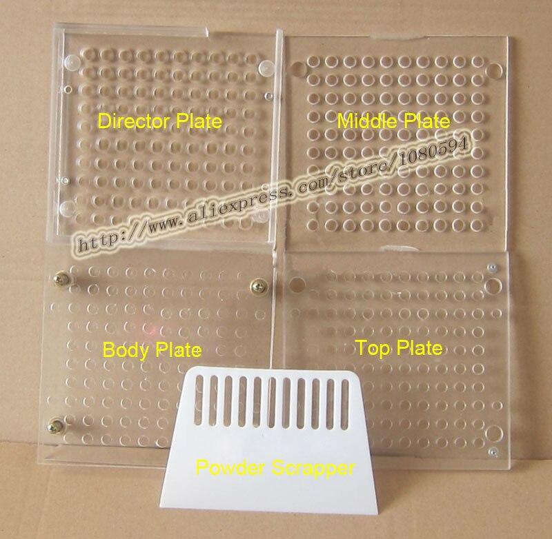100 Capacity ABS material, 100 hole manual capsule filling machine, capsule filler<br>