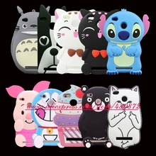For Xiaomi Redmi 3S 3D Silicon Bunny Stitch Pocket Cat Cupcake Cartoon Soft Cell Phone Case Cover for Redmi 3 3S 3 S Redmi 3 Pro