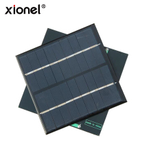Xionel 2W 9V Mini Solar Panel Module Solar System Epoxy Polycrystalline Silicon Cell Charger DIY 115x115mm(China)