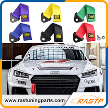 RASTP - OMP Nylon Racing Car Towing Strap Universal Tow Rope Racing Towing Strap Ropes Eye Bumper LS-BAG013