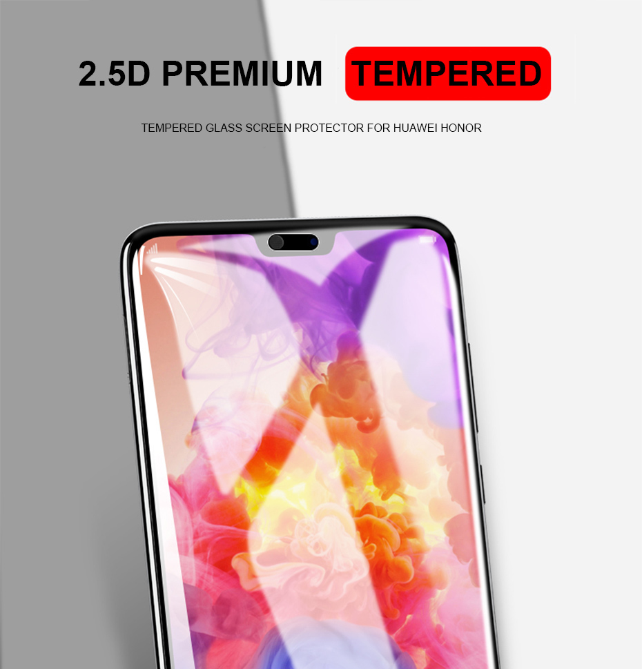 IST 2.5D Protective Tempered Glass For Huawei Honor 10 9 Lite 7 7A Pro 8 8X 6A Lite Play View Tempered Glass 3D Screen Protector (7)