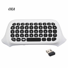 47 Keys Wireless 2.4G Practical Mini Handheld Keyboard Gaming Message Gamepad Keyboard For XBOX ONE S Controller