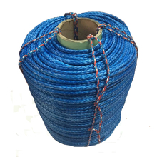 Free shipping factory direct sale 9 mm x 100 meters synthetic winch rope for ATV/UTV/4x4/off road accessories