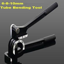 6mm 8mm 10mm 180 degree Manual Copper tube Bender brass pipes bender air conditioning brass aluminum pipe bender bending tool