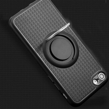 Fashion Non Slip 360 Degree Protection Cell phone Cover For iphone 6 Case Ring Holder Shockproof Cover For iPhone 6plus Case