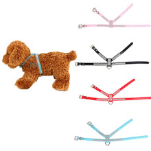 PU Leather Pet Bling Sparkling Rhinestone Dog Harness Strap Vest Collar For Small Medium-sized Dog Leads Puppy Comfort Cloth