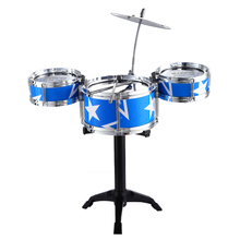 New Fun Mini Jazz Drum Toy Kids Early Educational Musical Instrument Toy Percussion Drum Baby Home Game Music Toy