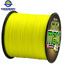 300M MODERN FISHING Brand super strong Japan multifilament PE braided fishing line 4 strands braided wires 8 10 20 30 40 60 80LB(China)