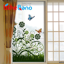 60*116cm PVC New High Quality Hot Flower Privacy Window Film decorative Glass Film Stickers self adhesive film for home decor