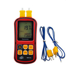 Digital Thermometer With LCD Backlight Temperature Measuring Instrument Termometro Industrial Thermometer Free Shipping