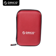 Orico 2.5 inch Portable External Hard Drive Protection Bag Dual Buffer Layer HDD Protector Case  PHD-25 - RED