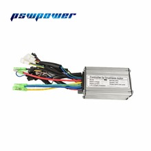24V/36V 250W 15A Brushless DC Square Wave Controller ebike Electric Bicycle Hub Motor Controller with right output(China)