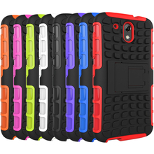 Shockproof For HTC Desire 526 526G 526G+ Silicon Back Cover Rugged Hybrid Rubber Impact Armor Hard Dual Layer Case Couqe