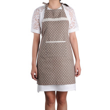 Home leisure aprons catering cotton sleeveless lace aprons Coffee Shop Apron  Kitchen Cooking Cleaning Sanitary  Apron 4 color