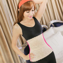 100pcs Tummy Trimmer Stomach Control slimming belt body shaper girdle corset size M L(China)