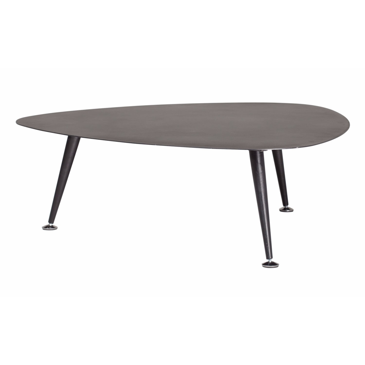Offex Trilateral Accent Table 29, Black (3)