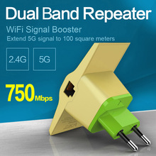 11 AC 750Mbps Dual Band 2.4G/5G WiFi Repeater Bridge AP Client Wireless Signal Extender Booster Expander Repetidor 802.11ac/g/bn