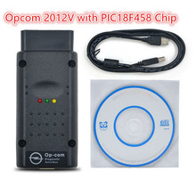 Opcom 2012V Can OBD2 For Opel Firmware V1.59 PC Based Opel Diagnostic Tool CAN-BUS Diagnostic with PIC18F458 Chip