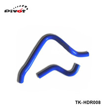 Tansky -turbo intercooler radiator pipping silicone hose Kit 2pcs For Honda Accord 90-93 (2pcs) TK-HDR008