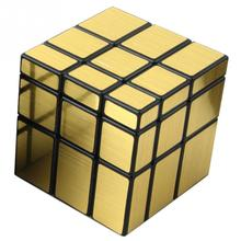 New Year Gifts Special-Shaped Mirror Magic Cubes with Cool Gold Silver Color Professional Mirror Magic Cube Puzzle Toys Gifts