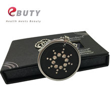 Men Quantum Energy Pendants With CZ Crystal & Stainless Steel Chain & Germanium FIR Energy Balls Fashion Charms with Package Box