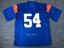 Ej Thad Castillo  54 fútbol Blue Mountain State cabras película cosida azul 647257271ea
