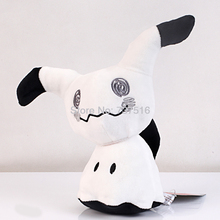New Sun & Moon 10inch Shiny Mimikyu Figure Plush Toy Stuffed Animals Soft Doll Black and white Different Color Xmas Gift(China)