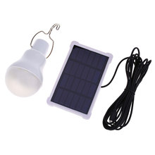 140LM Portable Solar Light Led Bulb Energy Solar Garden Lamp Led Lighting Solar Panel for Camping Travel Outdoor Used 5-6hours