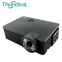 ThundeaL RD811 DLP Projector Short Throw Focal Focus 3200 Ansi Lumen 1024*768 Beamer 3D Home Cinema Theatre Meeting Mercury Lamp
