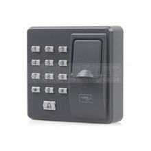 DIYSECUR Biometric Fingerprint Access Control Machine Digital Electric RFID Reader Code Password Keypad System for Door Lock(China)