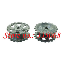 HENG LONG 3859/3859-1 RC tank Pzkpfw.IV Rusf.F2.sd.kfz.161/1 1/16 spare part No.59-083 Metal track driving wheel / sprocket(China)