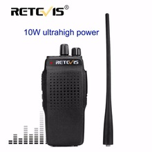Retevis RT26 10W Walkie Talkie UHF400-470MHz 16CH 3000mAh VOX Scan Handheld Two Way Hf Radio Transceiver Long Rang Walkie-Talkie(China)