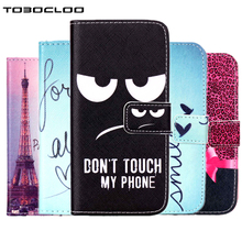 TOBOCLOO For Samsung Galaxy S3 S4 S5 S6 S7 edge S8 Flip Cover Wallet TPU+ PU Leather Cases For iPhone 5 5s SE 4 4s 6 6s 7 Plus(China)