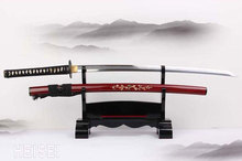 Free Shipping 1095 High Carbon Steel Blade Hand Forged Katana Japanese Samurai Sharp Sword Cutting Real Weapon