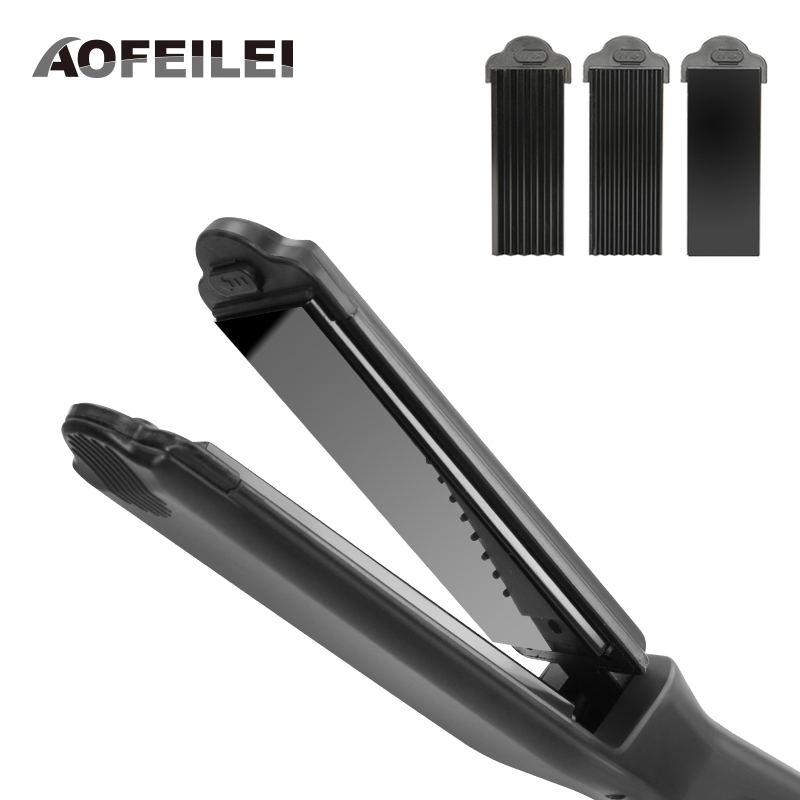 2017 Professional Electronic Hair Straightener Flat Irons Ceramic Coating Straightening Styling Tools Salon Curler Chapinha <br>