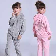 Girls Clothing Sets Velvet Sports Suits For Girls Clothing Children Sports Wear Spring Autumn Kids Tracksuits 5 7 9 10 12 Years