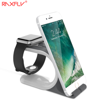 RAXFLY Desktop Stand Charger Dock Station For iPhone 6 7 Plus For i Watch Holder Bracket For Samsung Huawei Xiaomi Tablet