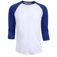 Buy new Fashion 2017 hot sale summer autumn Men O-Neck 100% Cotton T-shirt Men's Casual 3/4 Sleeve Tshirt Raglan Jersey Shirt man for $5.74 in AliExpress store
