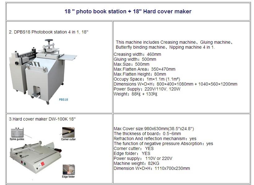 18inch photo book maker_conew1