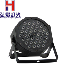 36 X1w RGB LED Par Can Stage Light Disco DJ Bar Effect dmx led par Club Party light Strobe AC110-240V Fast Shipping