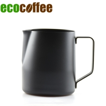 Free Shipping Stainless Steel Coffee Pitcher  Kitchen Coffee Milk Frothing coffee Jug Cappuccino Coffee Maker Tool 350/600Ml Mug