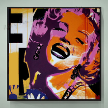 Hand painted Canvas Painting Home Decoration Pop Art Oil Painting Marilyn Monroe Canvas Art Oil Painting For Living Room Wall