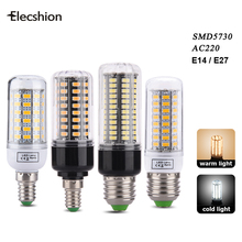 LED E27 AC 220V Bulb light source Spotlight 5730 5736 SMD lamp candle lampada for home daytime running light Furniture umbrella(China)
