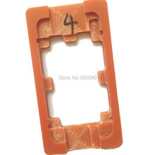 5 pcs Screen Mould Holder For LCD Touch Screen Refurbishment Glueing Mold For iPhone 4 / 4S LCD Outer Glass Lens Repair