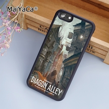 MaiYaCa Diagon Alley Harry Potter fashion soft mobile cell Phone Case Cover For iPhone 7 Plus Custom DIY Cases(China)