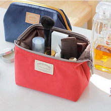 4 colors Waterproof Nylon Beauty Travel Cosmetic Bag Makeup Case Make up Pouch Toiletry Cosmetic Cases