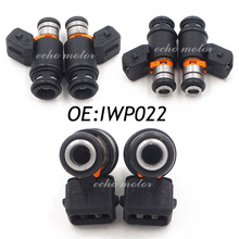 Set(6) IWP022 Fuel Injectors Mach For VW Golf Jetta 99-02 EuroVAN 97 99-00 2.8L 021906031D 021 906 031D IWP-022 021 906 031 D
