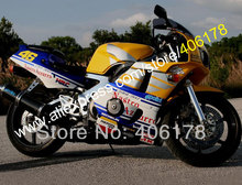 Hot Sales,Nastro Azzurro 90-98 CBR400RR NC29 CBR400RR Motorcycle Bodykit NC29 1990-1998 Bodywork Motorcycle Fairing Kit(China)