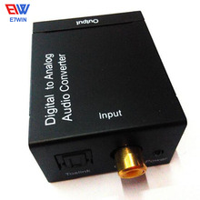 New TV Optical Digital SPDIF/Coaxial to RCA L/R Headphone Analog Audio Converter Out Digital to Analog Audio Converter,Mini DAC(China)